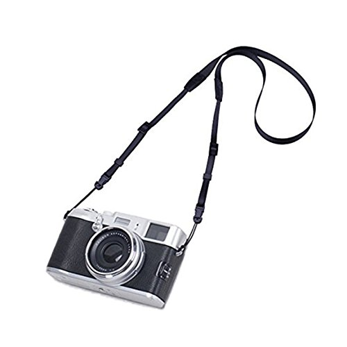 Camera Strap Eorefo [Slim Series] Camera Should Neck Strap for Mirrorless and DSLR Camera,Black.