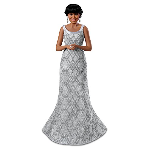Michelle Obama At The 2013 Oscars Fashion Doll Part Of The First Lady Of Fashion Collection by The Ashton-Drake Galleries