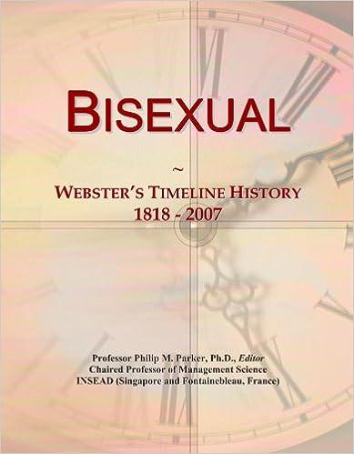 Book Bisexual: Webster's Timeline History, 1818 - 2007
