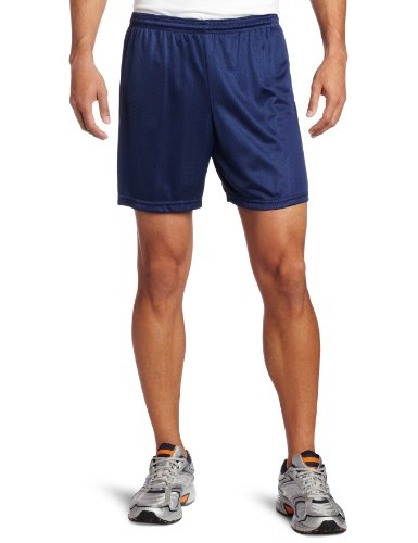 Mesh Gym Shorts - Soffe Men's Nylon Mini-Mesh Short Navy Large