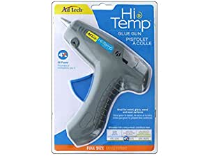 AdTech HiTemp Full-Size Glue Gun for Home Improvement and Decor | Use for Metal, Glass, and Wood | Gray | Item #0400