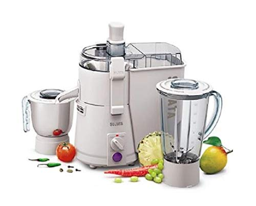 SUJATA POWERMATIC Plus 900-WATT (with Chutney JAR) JUICER Mixer Grinder.
