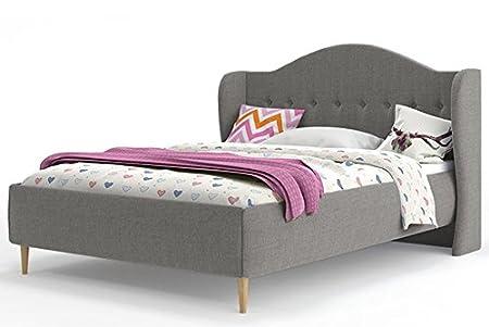 Interbeds Bett Für Erwachsene Inari Stoff 160 X 200 Mit