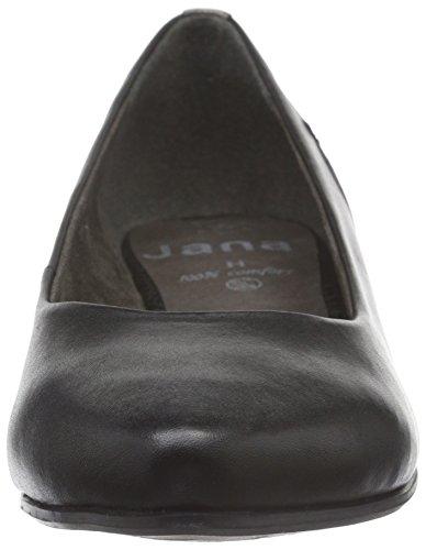 Jana 22200, Bailarinas Para Mujer Negro (Black NAPPA 022)