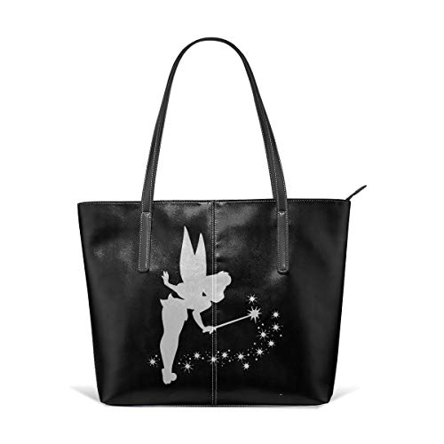Tote Bag Tinkerbell Platinum Totes Purse Handbags Shoulder Bags For Women]()