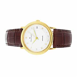 Blancpain Villeret automatic-self-wind mens Watch 1151-1418-55 (Certified Pre-owned)