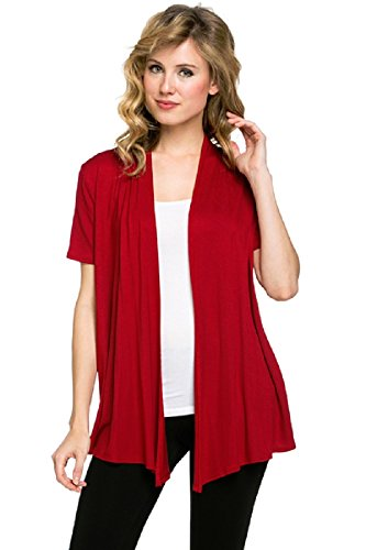 Viosi Womens Sleeve Draped Cardigan