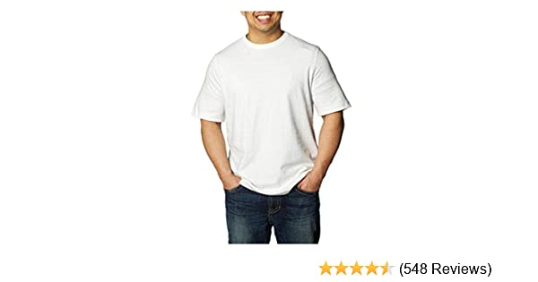 4c67dcfb Amazon.com: Kirkland Men's Crew Neck T-Shirts 100% Cotton (Pack of 6):  Clothing