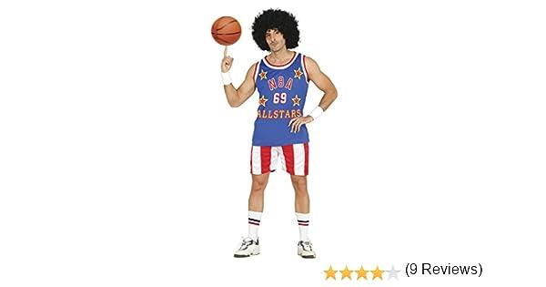 Guirca- Disfraz adulto jugador de baloncesto, Talla 52-54 (80811.0 ...