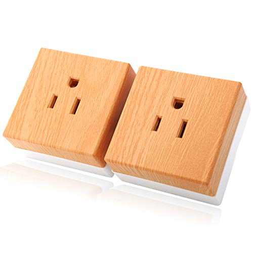 Smart Plug,BLIIFUU MINI Smart Outlet Compatible with Alexa Echo,Google Home,IFTTT for Voice Remote Control with Timing Function from Anywhere,No Hub Required(2Packs)