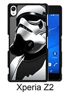 Lovely And Unique Designed Case For Sony Xperia Z2 With Star Wars Stormtrooper Black Phone Case