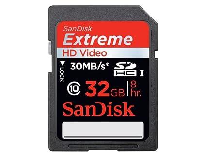 Sandisk 32GB Extreme SDHC 2-Pack Memoria Flash Clase 10 - Tarjeta de Memoria (32 GB, SDHC, Clase 10, 30 MB/s)