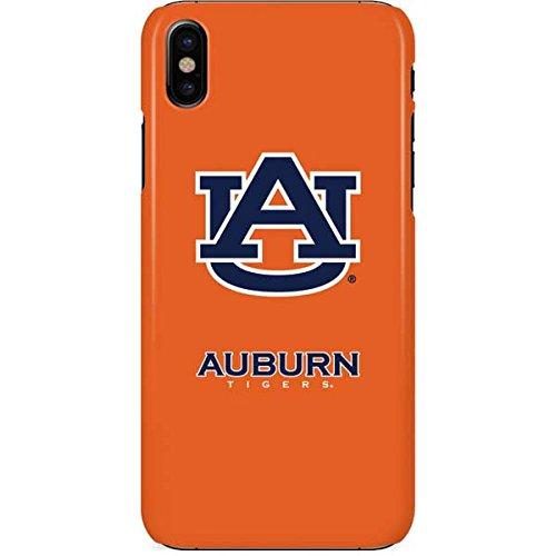 (Auburn University iPhone X Case - Auburn Tigers Orange | Schools X Skinit Lite)