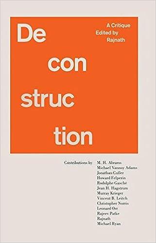 Book Deconstruction: A Critique
