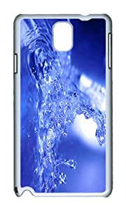 Samsung Note 3 Case,VUTTOO Cover With Photo: Water Explosion For Samsung Galaxy Note 3 / N9000 / Note3 - PC White Hard Case