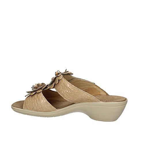 Sandalo 7971 Enval Women velcro Beige 50wZx7