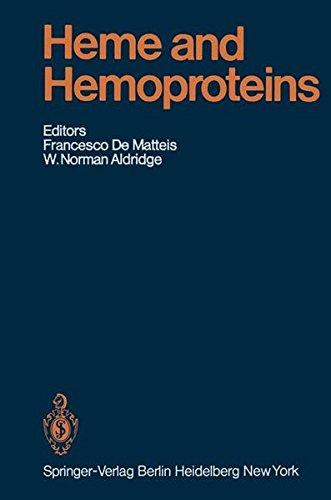 Heme and Hemoproteins (Handbook of Experimental Pharmacology)