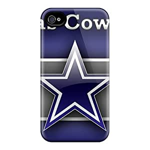 First-class Cases Covers For Iphone 4/4s Dual Protection Covers Dallas Cowboys