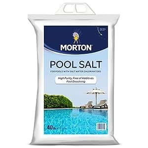 Morton salt 3460 pool salt 40 lb swimming - Public salt water swimming pools melbourne ...