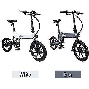 41pb2MdGoeL. SS300 Bici elettrica pieghevole per bici elettrica con motore mozzo da 250 W, altezza LED, ruote da 16 pollici, batteria agli…
