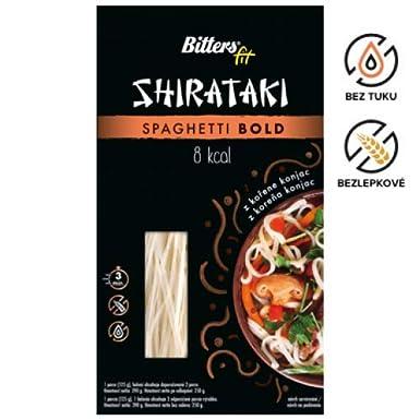 Bitters Shirataki Fit Pasta, fideos de forma Espagueti ...