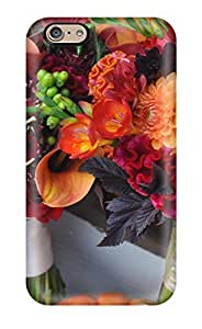 New Arrival Cover Case With Nice Design For Iphone 6- Fall Flowers