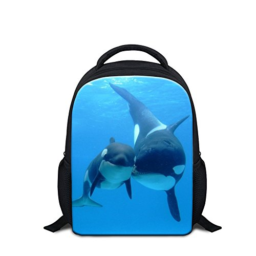 Creativebags Small Shoulder Backpack School BookBag for Preschool Kindergarten Kids Boys Girls 12 Inch