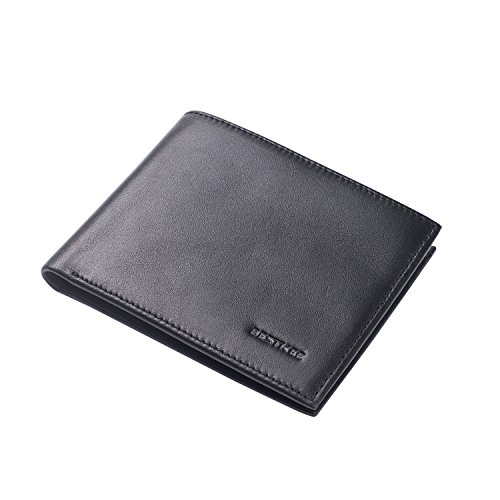 bestkee-rfid-blocking-leather-bifold-wallets-for-men-slim-front-pocket-wallet-with-credit-card-prote
