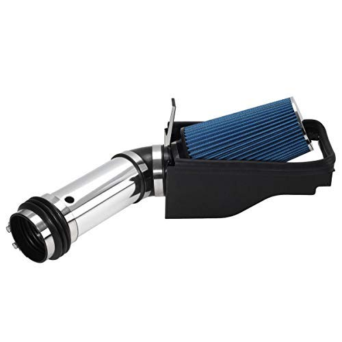4 Blue Air Intake Kit Replacement for Ford Excursuion F250 F350 Super Duty 7.3L V8 1999 2000 2001 2002 2003