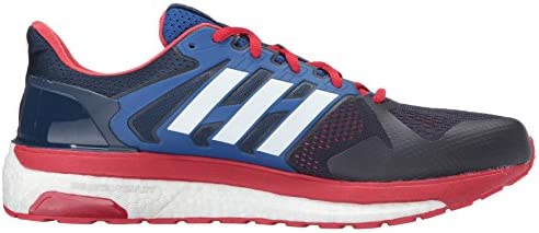 adidas Mens Supernova St Running Shoes Footwear WhiteSilver MetallicGrey One