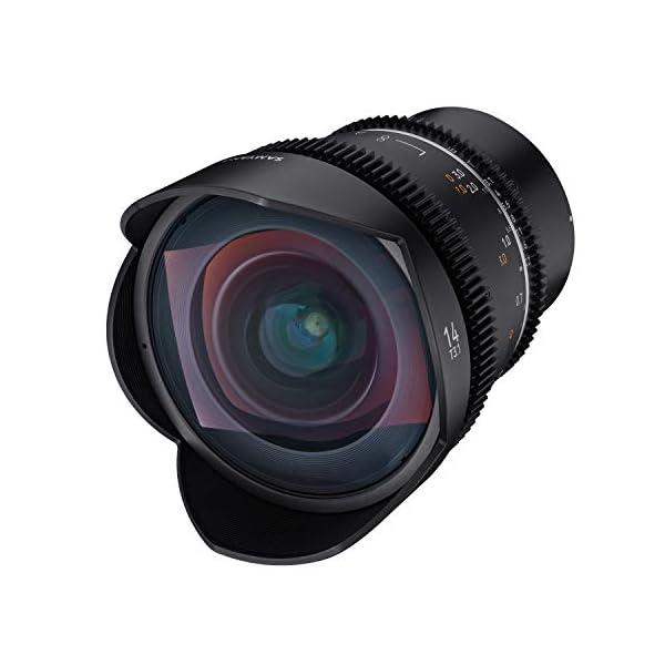 RetinaPix Samyang Enhanced Cine Lens, VDSLR 14MM T3.1 MK2, for Mount Sony E Cameras