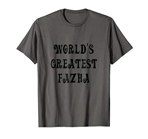 Mens World's Greatest Fazha Austin Powers Parody Father's Shirt]()