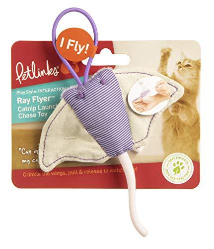 Petlinks Ray Flyer Stingray Launcher Catnip Cat Toy