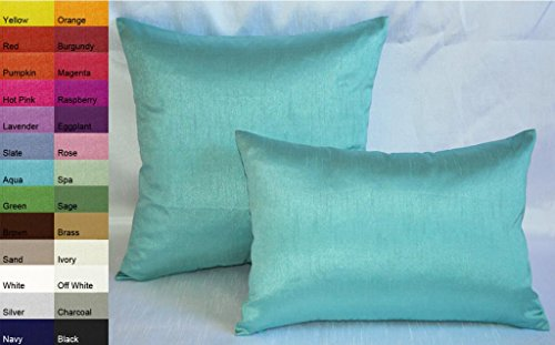 Aqua Decorative Pillow - 1