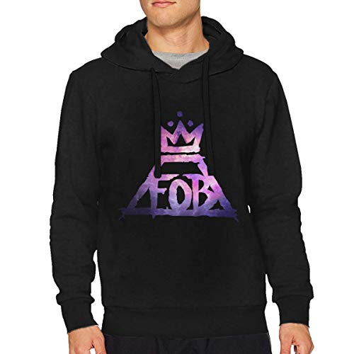 (Man's Fall Out Boy Music Band Long Sleeve Hooded Classic Pullover)