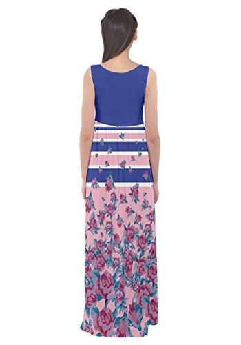 CowCow - Vestido - para mujer Blue Stripes