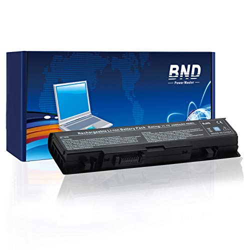 BND Laptop Battery Compatible with Dell Studio WU946 1558 1555 1537 1535 PP39L PP33L 1536, fits P/N WU946 MT264- 12 Months Warranty [6-Cell 4400mAh/49Wh]