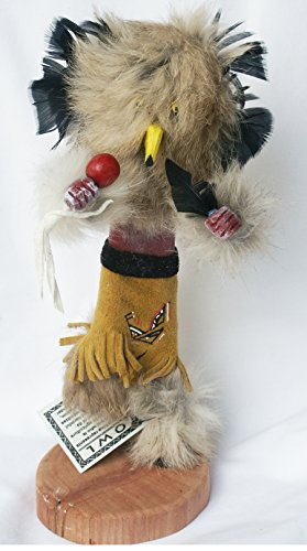 "9"" Navaho Made Kachina Doll (Owl), F-25 (Owl Doll Kachina)"