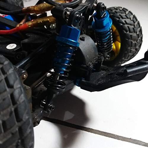Azul Vaorwne Amortiguador de Amortiguador de 65 Mm Ajustable en Aceite de 2 Piezas para Coche RC 1//18 WLtoys A959 A969 A979 K929 Hpi Hsp Losi