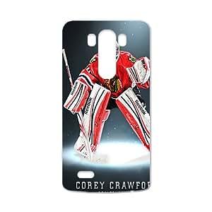 Chicago Blackhawks corey crawford Phone Case for LG G3
