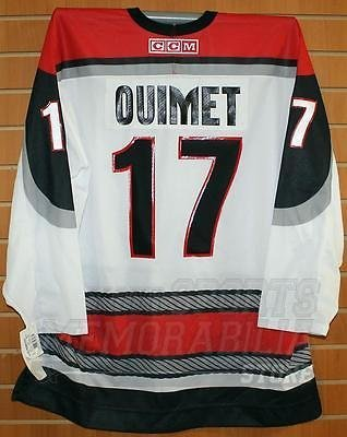 - Ouimet Portland Pirates #17 AHL CCM Official Replica Hockey Jersey XL