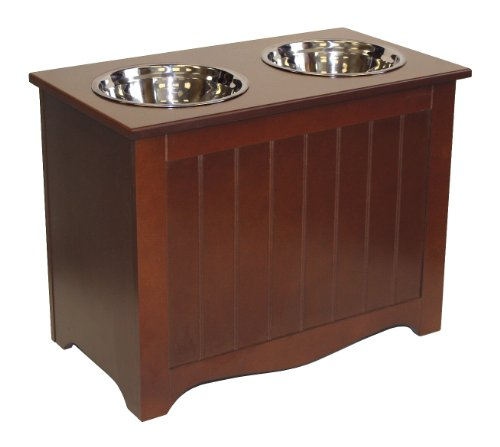 APetProject Large Pet Food Server & Storage Box (Chocolate Brown) LIMIT 1 PER ORDER