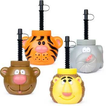 [Zoo Animal Sipper Cup (each)] (Cup Halloween Sipper)