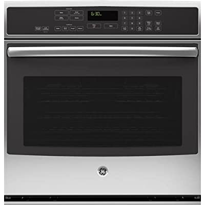 "GE PT9050SFSS Profile 30"" Stainless Steel Electric Single Wall Oven - Convection"