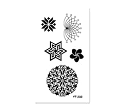 Harajuku Europa y América pequeñas y frescas pegatinas de tatuaje ...