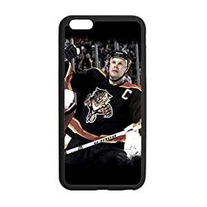 Custom Olli Jokinen Panthers Phone Case Laser Technology for iPhone 6 Plus Designed by HnW Accessories by mcsharks