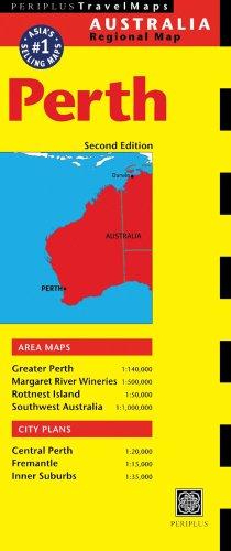 Perth Australia Map (Australia Regional Maps)