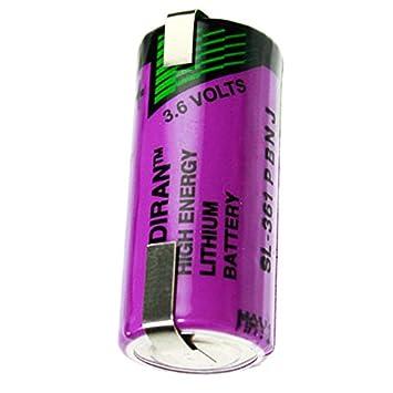 Sonnenschein SL-760 Lithium Battery SL de 361 con soldadura en forma ...
