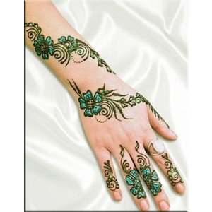 Professional Body Art Pens. Temporary Tattoo Color Pens for Enhancing and Defining Ink. HENNA STYLE SKIN MARKER (6) by Professional Body Art by Velvet