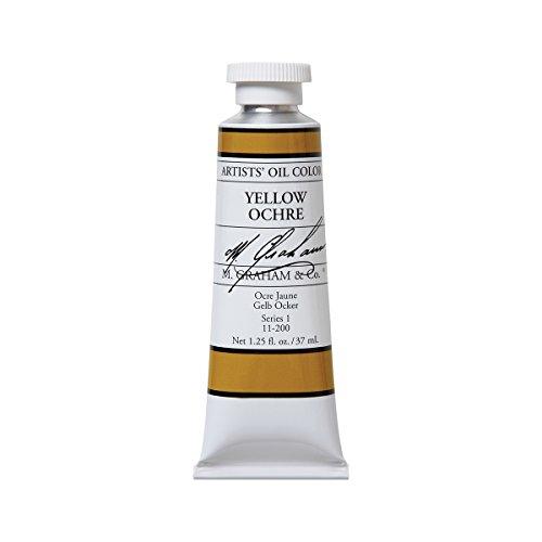 m-graham-artist-oil-paint-yellow-ochre-125oz-37ml-tube